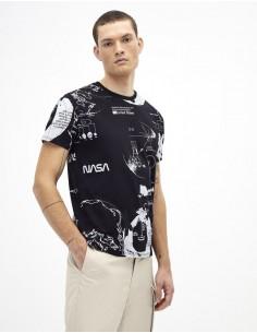 T Shirt Col rond -NASA-