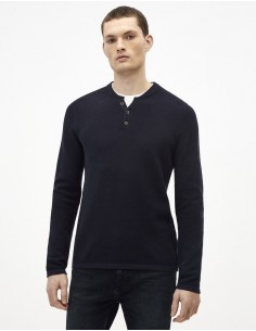 Pull Homme col tunisien