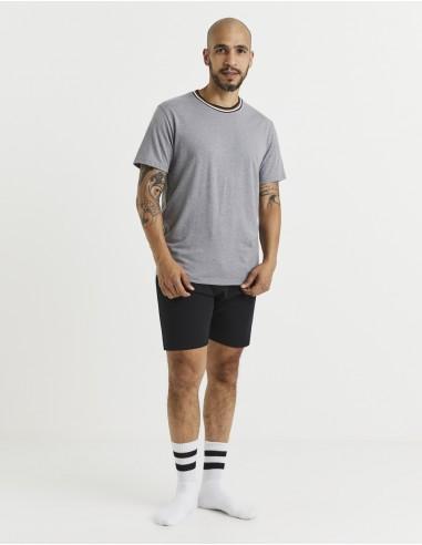 Pyjama manches courtes et short coton