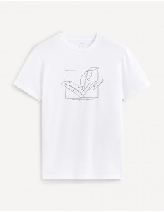 T-shirts col rond 100% coton