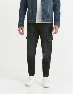 Jean jogging avec poches cargo