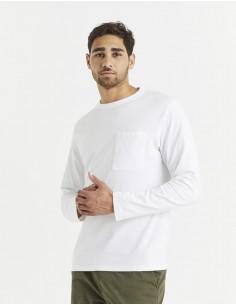 T-shirt col rond 100% coton